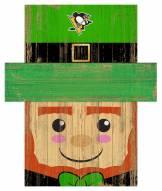 "Pittsburgh Penguins 19"" x 16"" Leprechaun Head"