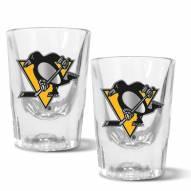 Pittsburgh Penguins 2 oz. Prism Shot Glass Set