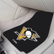 Pittsburgh Penguins 2-Piece Carpet Car Mats