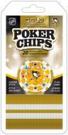 Pittsburgh Penguins 20 Piece Poker Chips Set