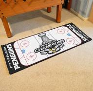 Pittsburgh Penguins 2016 Stanley Cup Champions Runner Rug