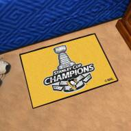 Pittsburgh Penguins 2016 Stanley Cup Champions Starter Rug