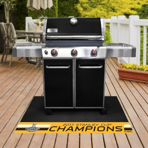 Pittsburgh Penguins 2017 Stanley Cup Champs Grill Mat