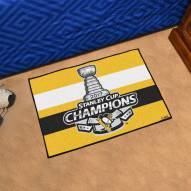 Pittsburgh Penguins 2017 Stanley Cup Champs Starter Rug
