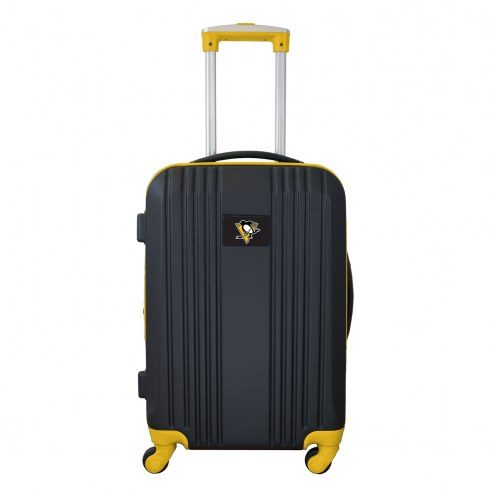 """Pittsburgh Penguins 21"""" Hardcase Luggage Carry-on Spinner"""