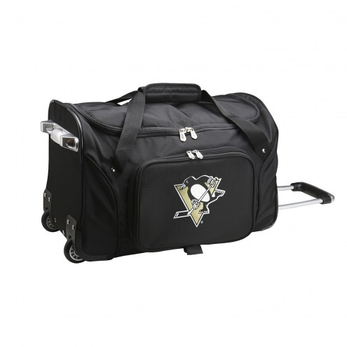 "Pittsburgh Penguins 22"" Rolling Duffle Bag"