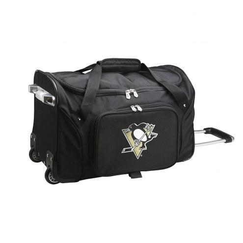 "Pittsburgh Penguins 22"" Rolling Duffle Bag"