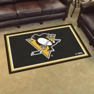 Pittsburgh Penguins 4' x 6' Area Rug