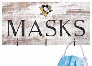 "Pittsburgh Penguins 6"" x 12"" Mask Holder"