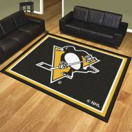 Pittsburgh Penguins 8' x 10' Area Rug