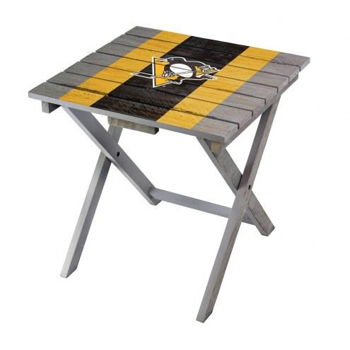 Pittsburgh Penguins Adirondack Folding Table