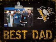 Pittsburgh Penguins Best Dad Clip Frame