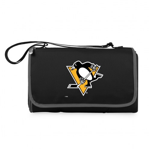 Pittsburgh Penguins Black Blanket Tote