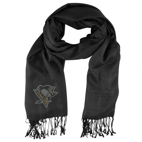 Pittsburgh Penguins Black Pashi Fan Scarf