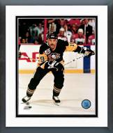 Pittsburgh Penguins Bryan Trottier Action Framed Photo