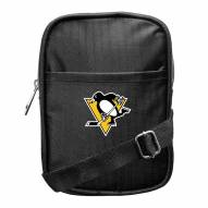 Pittsburgh Penguins Camera Crossbody Bag