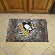 Pittsburgh Penguins Camo Scraper Door Mat
