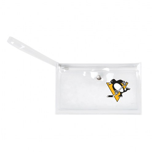 Pittsburgh Penguins Clear Ticket Wristlet
