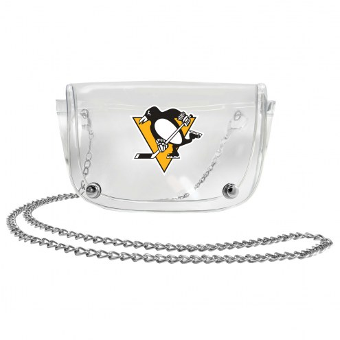 Pittsburgh Penguins Clear Waistpack