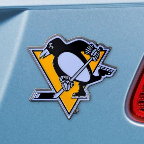 Pittsburgh Penguins Color Car Emblem