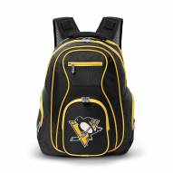 NHL Pittsburgh Penguins Colored Trim Premium Laptop Backpack