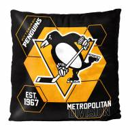 Pittsburgh Penguins Connector Double Sided Velvet Pillow