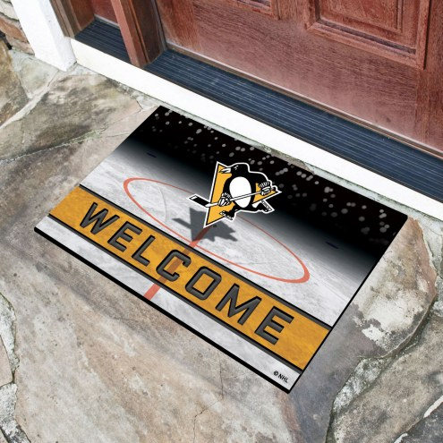 Pittsburgh Penguins Crumb Rubber Door Mat