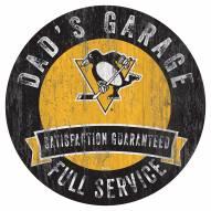 Pittsburgh Penguins Dad's Garage Sign
