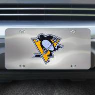 Pittsburgh Penguins Diecast License Plate