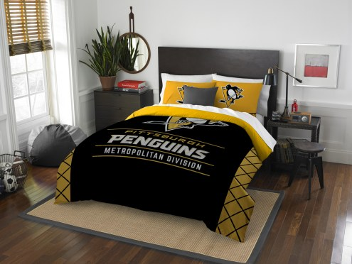 Pittsburgh Penguins Draft Full/Queen Comforter Set