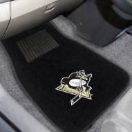 Pittsburgh Penguins Embroidered Car Mats