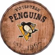 """Pittsburgh Penguins Established Date 16"""" Barrel Top"""