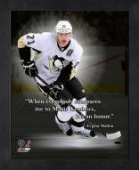 Pittsburgh Penguins Evgeni Malkin Framed Pro Quote