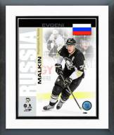 Pittsburgh Penguins Evgeni Malkin Russia Portrait Plus Framed Photo