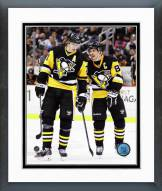 Pittsburgh Penguins Evgeni Malkin & Sidney Crosby 2014-15 Framed Photo