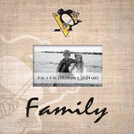 Pittsburgh Penguins Family Picture Frame