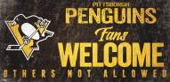 Pittsburgh Penguins Fans Welcome Sign
