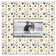 """Pittsburgh Penguins Floral Pattern 10"""" x 10"""" Picture Frame"""