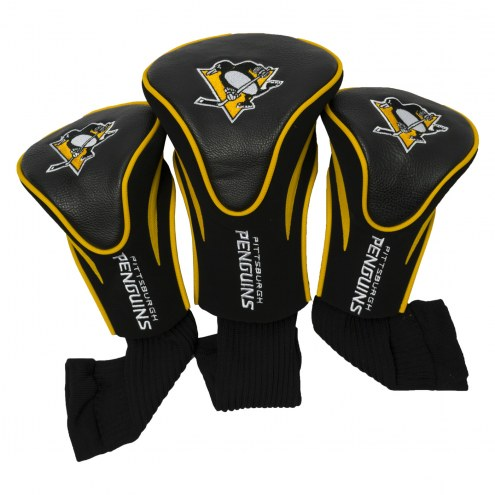 Pittsburgh Penguins Golf Headcovers - 3 Pack