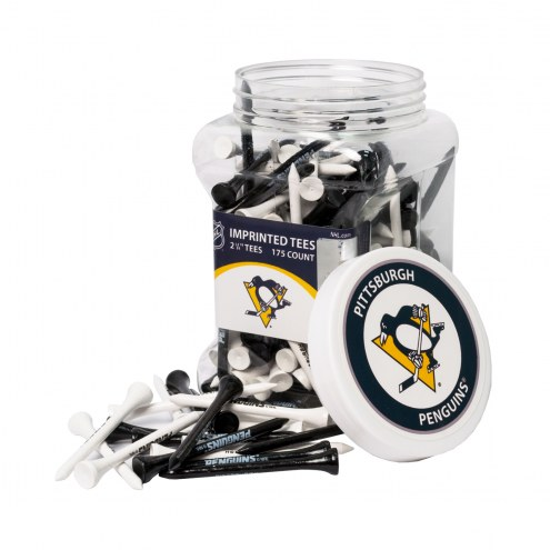 Pittsburgh Penguins 175 Golf Tee Jar