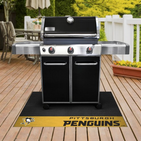 Pittsburgh Penguins Grill Mat