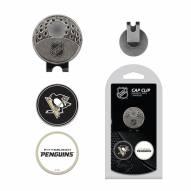Pittsburgh Penguins Hat Clip & Marker Set