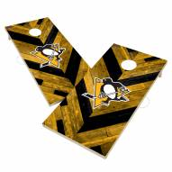 Pittsburgh Penguins Herringbone Cornhole Game Set