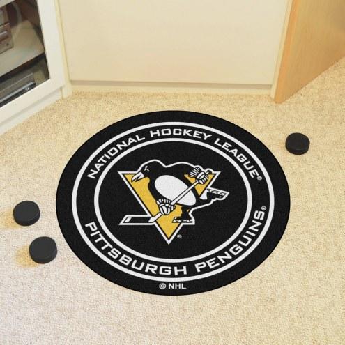 Pittsburgh Penguins Hockey Puck Mat