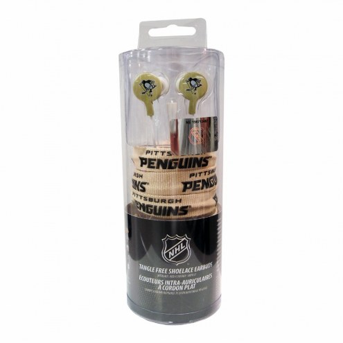 Pittsburgh Penguins iHip Shoelace Earbuds
