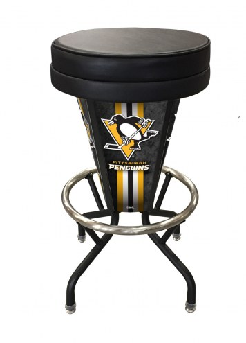Pittsburgh Penguins Indoor/Outdoor Lighted Bar Stool