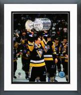 Pittsburgh Penguins Joe Mullen 1992 Stanley Cup Finals Framed Photo