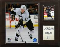 "Pittsburgh Penguins Jordan Staal 12"" x 15"" Player Plaque"