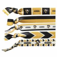 Pittsburgh Penguins Knotted Hair Tie