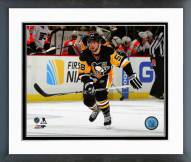 Pittsburgh Penguins Kris Letang Action Framed Photo